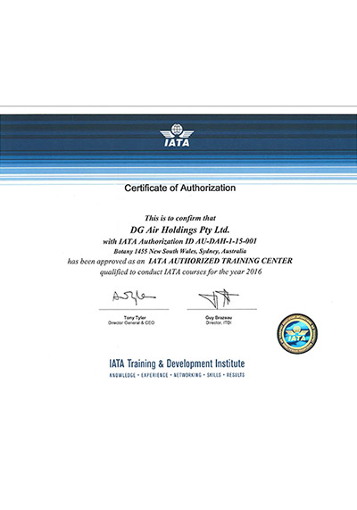 IATA Accreditation