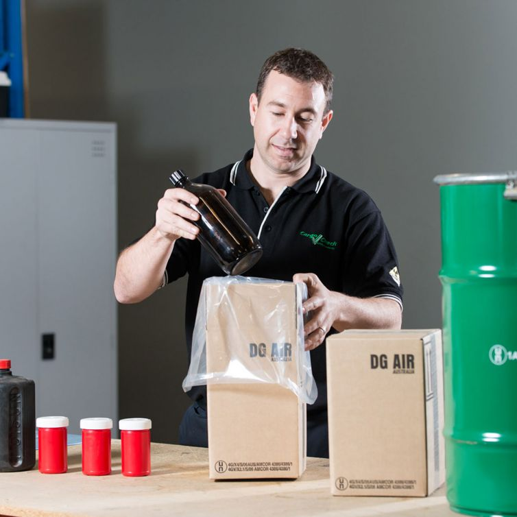 Dangerous Goods Packaging Service