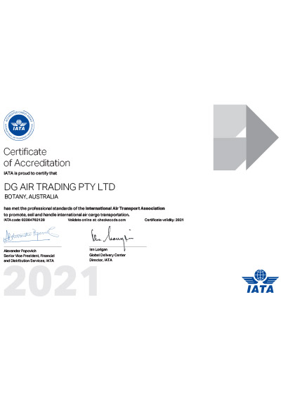 IATA Air Cargo Agent